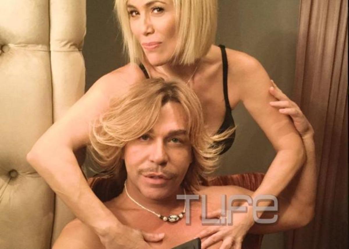 Τρύφωνας Σαμαράς – Κωνσταντίνα Μιχαήλ: Γιατί ποζάρουν γυμνοί; Backstage φωτογραφίες και βίντεο   Newsit.gr