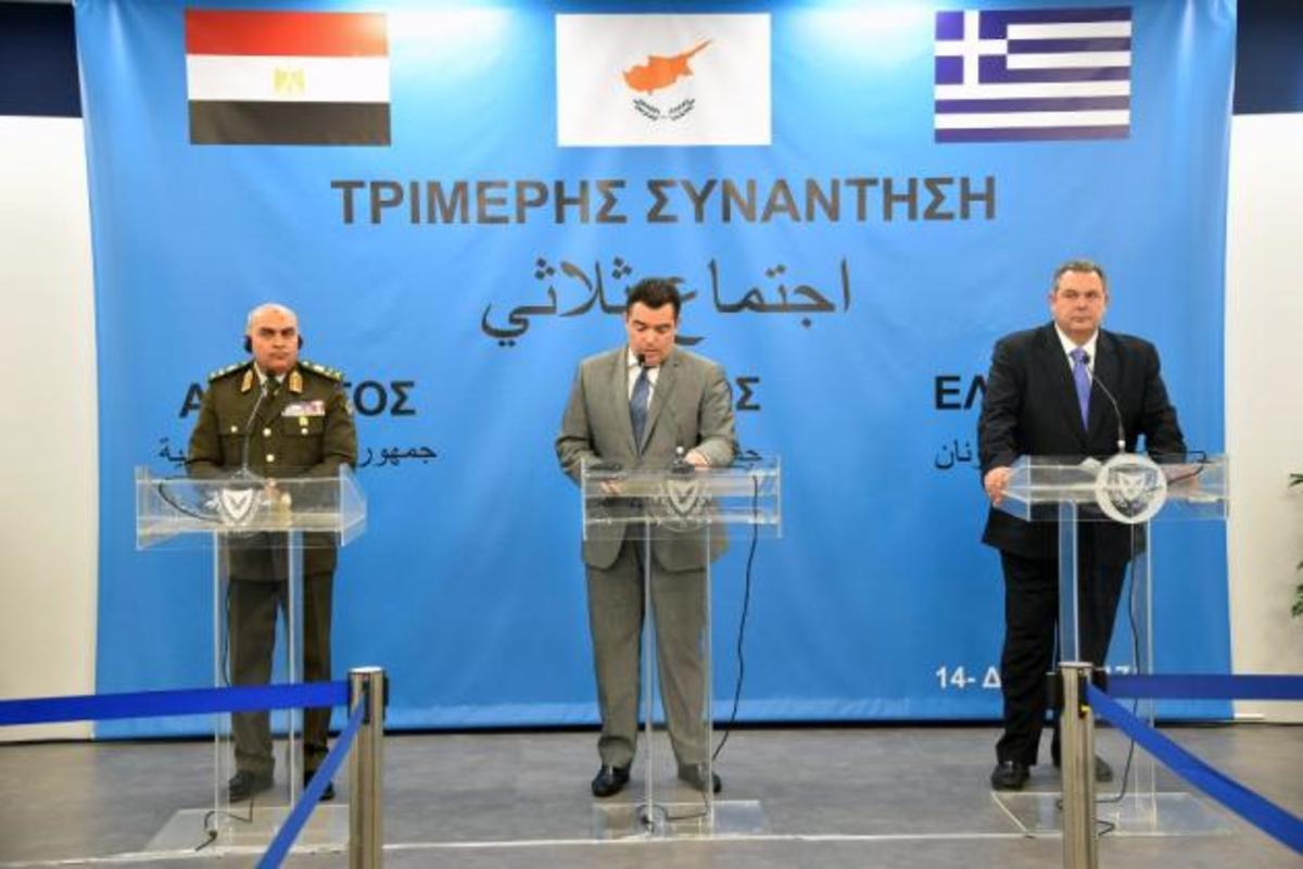 Τριμερής Ελλάδας, Κύπρου, Αιγύπτου: Ασφάλεια, ενέργεια, τρομοκρατία στο επίκεντρο [pics] | Newsit.gr