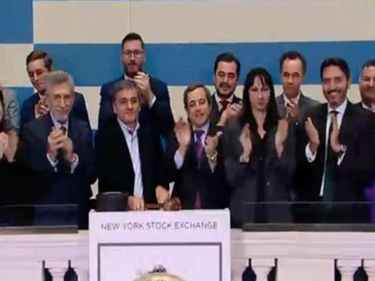 Ο Τσακαλώτος χτύπησε το καμπανάκι της Wall Street [vid] | Newsit.gr