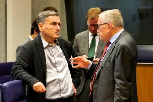 """Τσακαλώτος στο Eurogroup: """"Η Ελλάδα γυρίζει σελίδα"""""""