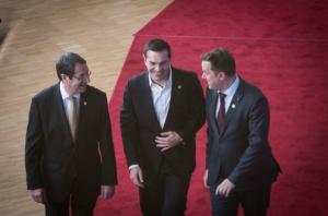 Συνάντηση Τσίπρα – Αναστασιάδη στη Σύνοδο Κορυφής
