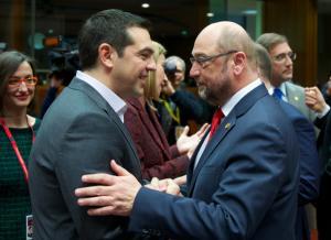 Ο Τσίπρας έστειλε sms στον Σουλτς για να… κάνει κυβέρνηση με τη Μέρκελ