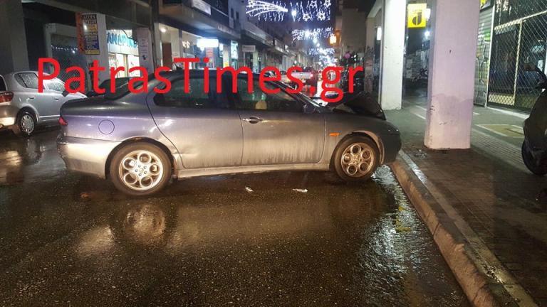 Πάτρα: Έκλεψε αυτοκίνητο και το τράκαρε