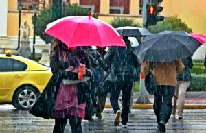 Καιρός: Έκτακτο δελτίο επιδείνωσης – Βροχές και καταιγίδες από το Σάββατο