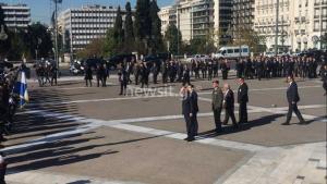 Όταν ο Ερντογάν υποκλίθηκε στην ελληνική σημαία και οι Ευέλπιδες έψαλλαν τον εθνικό ύμνο