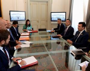 Ιστορική πρώτη κοινή συνεδρίαση των κυβερνήσεων Αλβανίας και ΠΓΔΜ