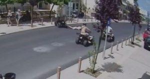 """Ηράκλειο: Ακυβέρνητη """"γουρούνα"""" στα Μάλια – Το βίντεο ντοκουμέντο του ατυχήματος [vid]"""