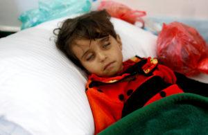 Θερίζει η χολέρα στην Υεμένη