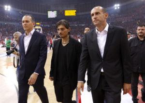 """Ολυμπιακός για Γιαννακόπουλο: """"Και οι τυφλοί είδαν να επιτίθεται στους διαιτητές"""" [pics]"""