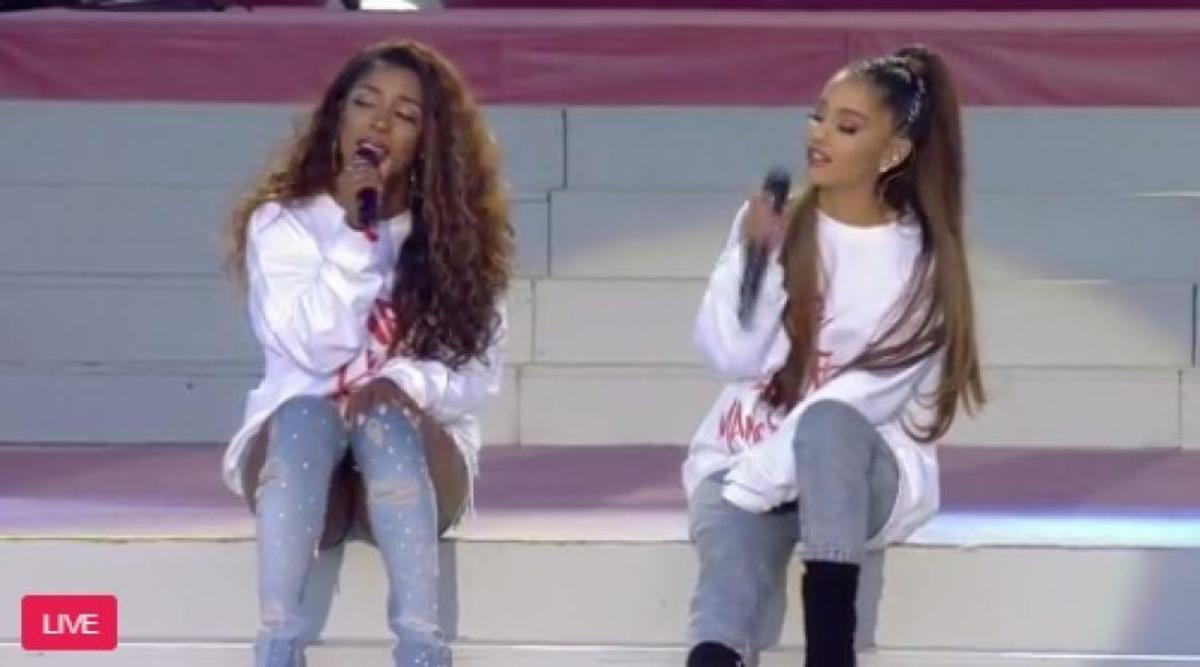 Manchester: Φορτισμένο το κλίμα στην συναυλία της Ariana Grande [vid]