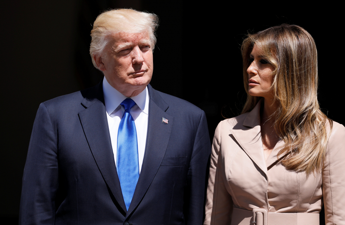 Μελάνια και Ντόναλντ Τραμπ