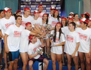 Πανελλήνιο πρωτάθλημα κολύμβησης: Πρωταθλητής και πάλι ο Ολυμπιακός!