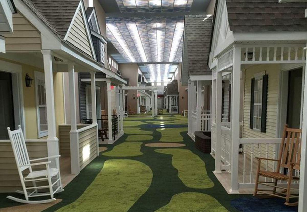 Απ' έξω μοιάζει με ένα απλό γηροκομείο! Μέσα είναι μια γειτονιά… παράδεισος [vid]
