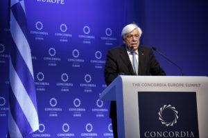 Παυλόπουλος: Αυτονόητη η αλληλεγγύη των εταίρων, την περιμένουμε