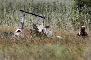 Πτώση ελικοπτέρου στον Σχοινιά: Τραγωδία! Ο πιλότος είχε πάρει μαζί του δυο άτομα για βόλτα