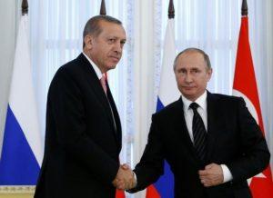 Τηλεφωνική επικοινωνία Πούτιν – Ερντογάν για την κατάσταση στο Κατάρ