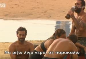 """Αγγελόπουλος Survivor: Πήγε να βοηθήσει την Βαλαβάνη και…έφαγε """"χυλόπιτα""""! [vid]"""