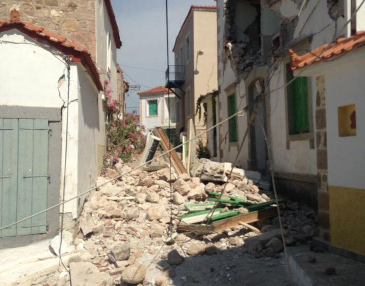 Σεισμός – Μυτιλήνη: Νέο video ντοκουμέντο από το χωριό Βρίσα