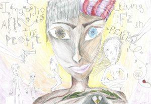 Γιαννιτσά: Η ζωγραφιά 14χρονης μαθήτριας που συγκλόνισε τους πάντες – Η εξήγηση της ίδιας [pic, vid]