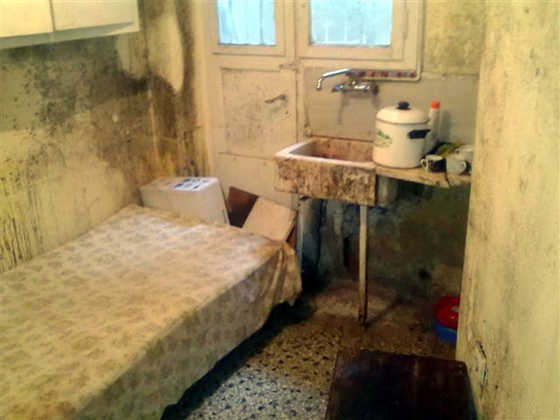 Αυτό ήταν το δωμάτιο φυλακή... (ΦΩΤΟ EUROKINISSI)