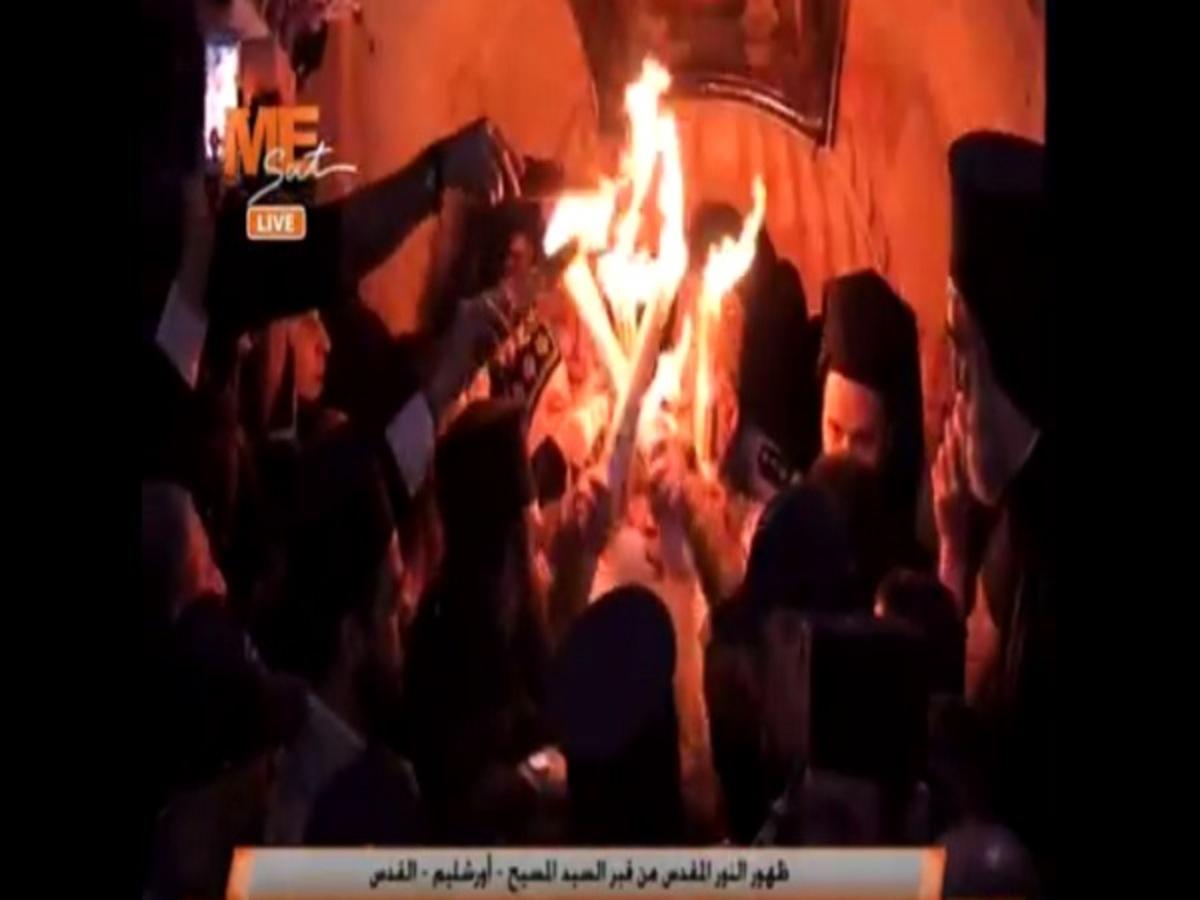 Άγιο Φως: Έγινε η τελετή αφής στα Ιεροσόλυμα – Οι πρώτες εικόνες [vid]