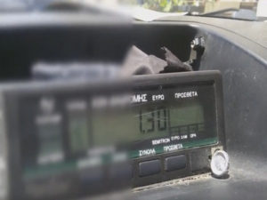 Θεσσαλονίκη: Το ταξίμετρο δεν είχε σημασία στην κούρσα – Χαμός με Γερμανούς τουρίστες!