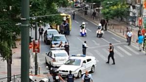 Λουκάς Παπαδήμος: Η στιγμή της μεταφοράς των τραυματιών από το σημείο της έκρηξης [pics]