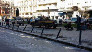 """Θεσσαλονίκη: Το λάθος που έφερε """"κράξιμο"""" στο διαδίκτυο – Τα κολωνάκια δεν μπήκαν σωστά [pics]"""