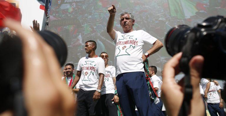 Σάντος: Ζήτω οι ήρωες της Πορτογαλίας και ο Κριστιάνο Ρονάλντο
