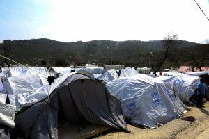 """Μυτιλήνη: Επίσκεψη Βαρβιτσιώτη στη Μόρια – """"Η κατάσταση είναι εμφανώς βελτιωμένη""""!"""
