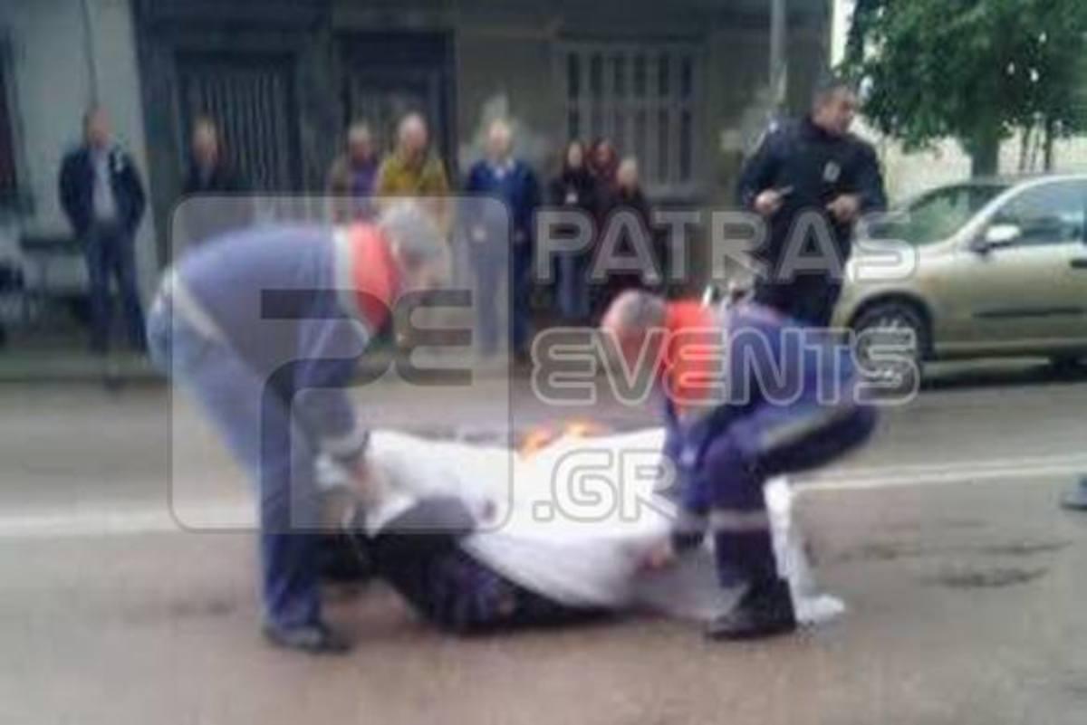 Πάτρα: Τραγωδία στην άσφαλτο – Φορτηγό συνέθλιψε άντρα με πατερίτσες!