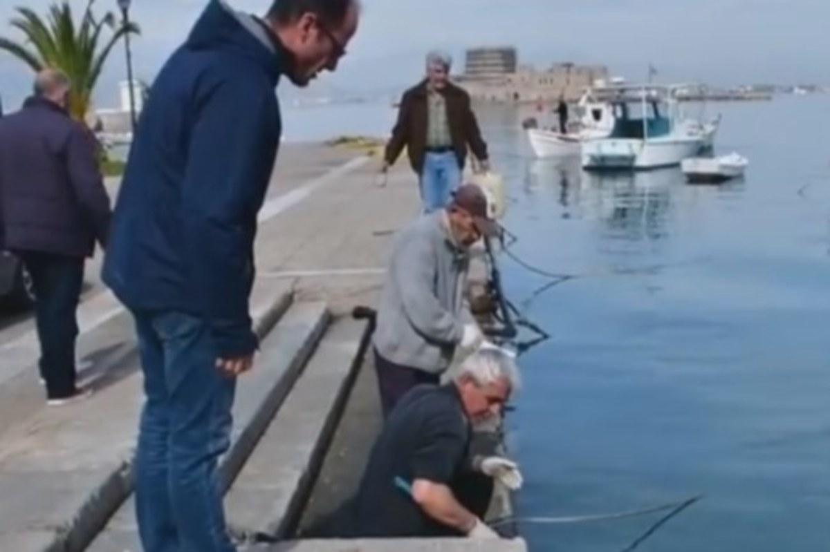 Ναύπλιο: Οι ψαράδες δεν έσκυψαν στη θάλασσα για καλό – Οι εικόνες από το επίμαχο σημείο [vid]