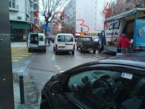 Θεσσαλονίκη: Viral στο facebook το τετραπλό παρκάρισμα της χρονιάς – Η απίθανη εικόνα [pic]