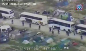 Ειδομένη: ΒΙΝΤΕΟ της επιχείρησης από το ελικόπτερο της Αστυνομίας