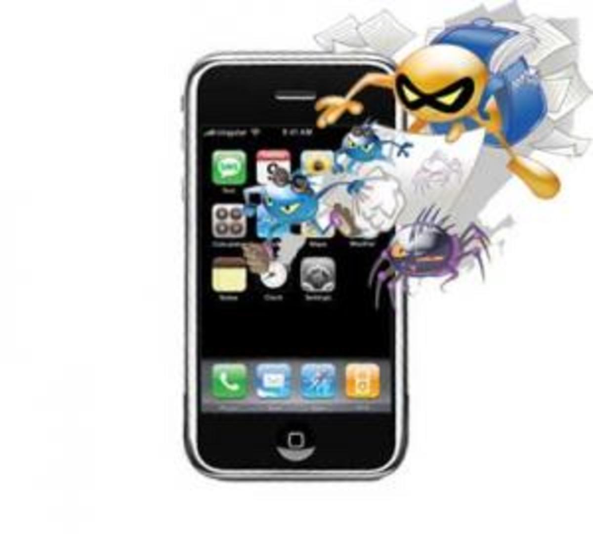 Το πρώτο «σκουλήκι» του iPhone