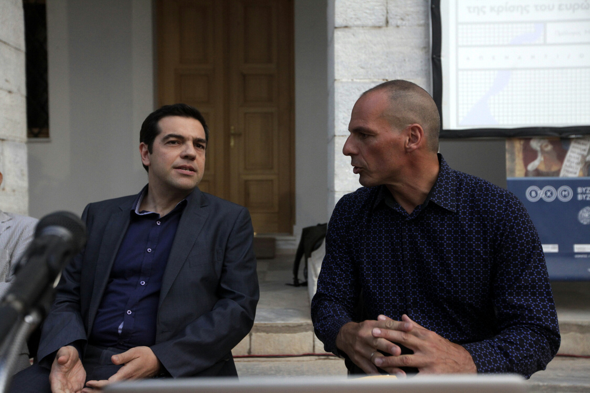 """Αναπόφευκτο το Grexit εξαιτίας δημοψηφίσματος Τσίπρα και σαμποτάζ Βαρουφάκη"""""""