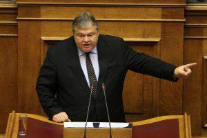 Ε. Βενιζέλος: Εάν χάσει βουλευτές ο ΣΥΡΙΖΑ, το ΠΑΣΟΚ δεν είναι ρεζέρβα