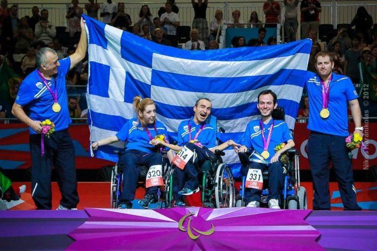 Πολυχρονίδης: O σημαιοφόρος της Ελλάδας στους Παραολυμπιακούς Αγώνες