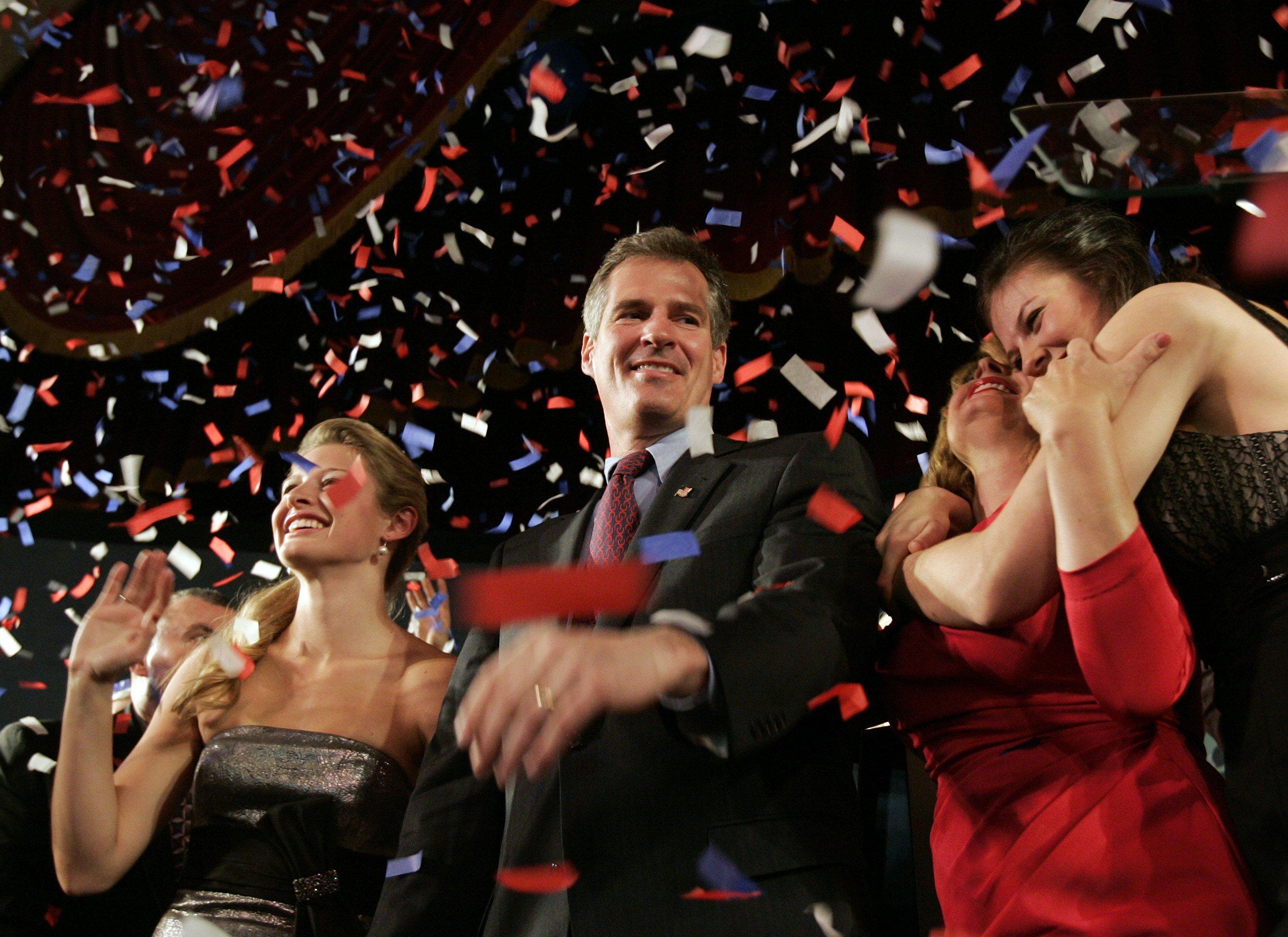 Ο νέος γερουσιαστής της Μασαχουσέτης Σκοτ Μπράουν. ΦΩΤΟ REUTERS