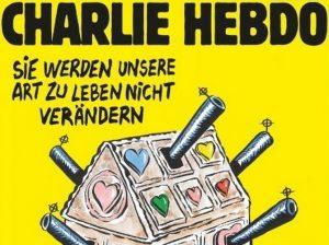 Το εξώφυλλο του Charlie Hebdo μετά το αιματοκύλισμα στο Βερολίνο
