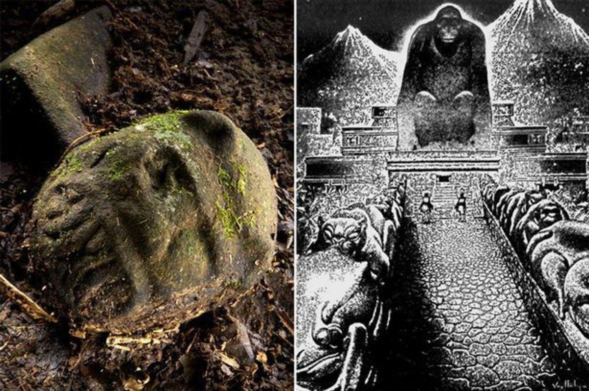 """Ανακάλυψαν τη μυθική """"Λευκή Πόλη"""" του Θεού Πιθήκου!"""