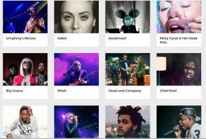 Δες live τις συναυλίες αγαπημένων σου καλλιτεχνών