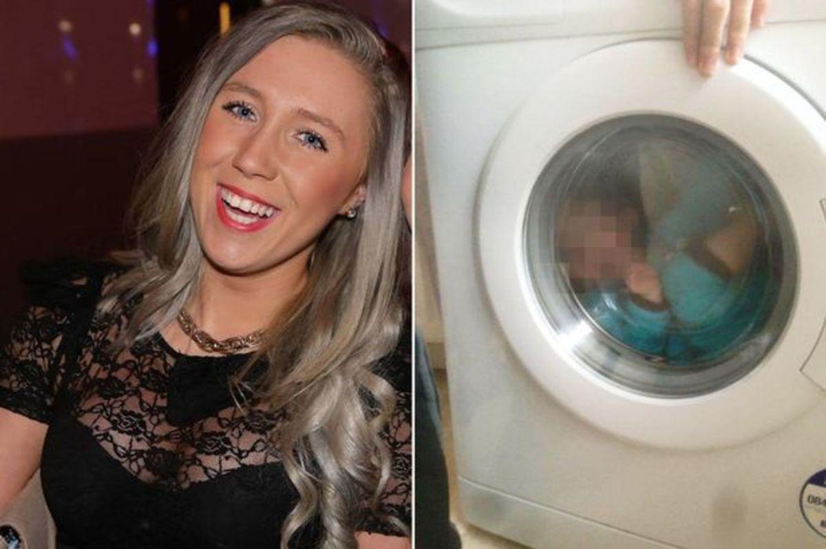 Έβαλε το αγοράκι της με σύνδρομο Down στο πλυντήριο, γελούσε και έβγαζε φωτογραφίες