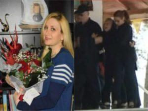 Η κηδεία της 36χρονης μεσίτριας που δολοφονήθηκε στη Θεσσαλονίκη – Τραγικές φιγούρες η μάνα, ο σύζυγος και τα παιδιά της [pic, vid]