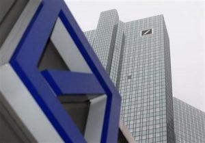 Βουτιά της μετοχής της Deutsche Bank