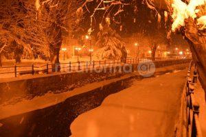 Καιρός: Εντυπωσιακές εικόνες από τη χιονισμένη Φλώρινα – Κλειστά όλα τα σχολεία [pics]