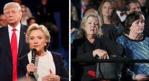 """""""Ο Μπιλ Κλίντον με βίασε και η Χίλαρι με απειλούσε"""" – Ο Τραμπ έβαλε στη μάχη της προεδρίας 4 γυναίκες που """"στοιχειώνουν"""" τους Κλίντον"""