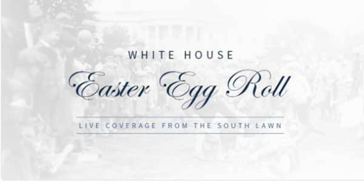 Δείτε live από τον Λευκό Οίκο το Easter Egg Roll