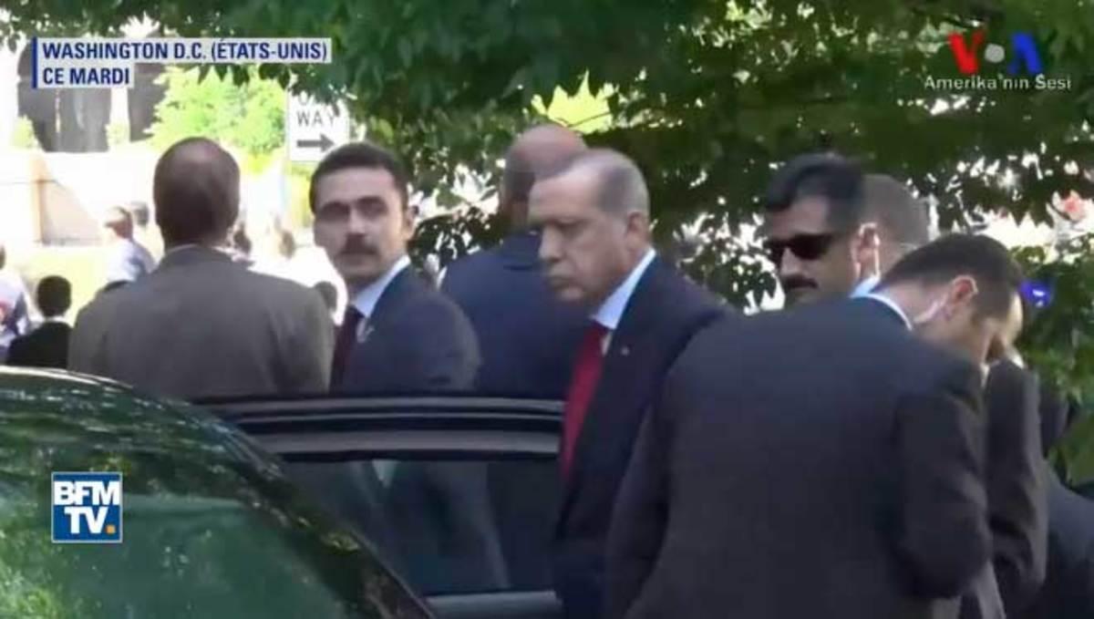 """Μετράει """"χαστούκια"""" από τις ΗΠΑ ο Ερντογάν! Μπροστά στα μάτια του το άγριο ξύλο σε Κούρδους"""