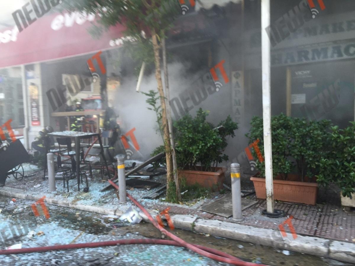 Έκρηξη στα everest στην πλατεία Βικτωρίας